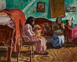 Vitéz Darvassy István - Mártélyi szoba, 1933 körül