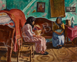 Vitéz Darvassy, István (Darvasi István) - Room in Mártély, c. 1933