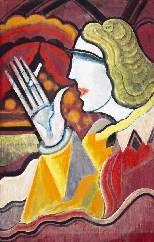 Eladó  Scheiber Hugó - Bárhölgy (Szeparé) festménye