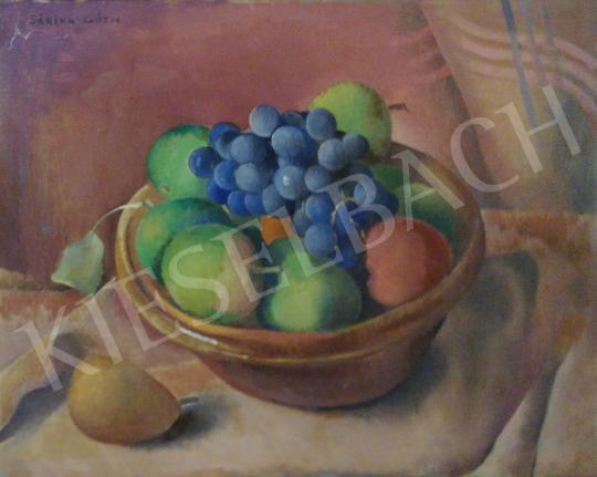 Eladó Góth Sárika - Csendélet gyümölcsökkel festménye