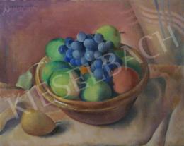 Góth Sárika - Csendélet gyümölcsökkel