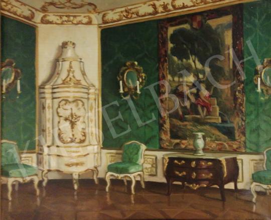 Eladó  Zádor István - Kastélybelső festménye