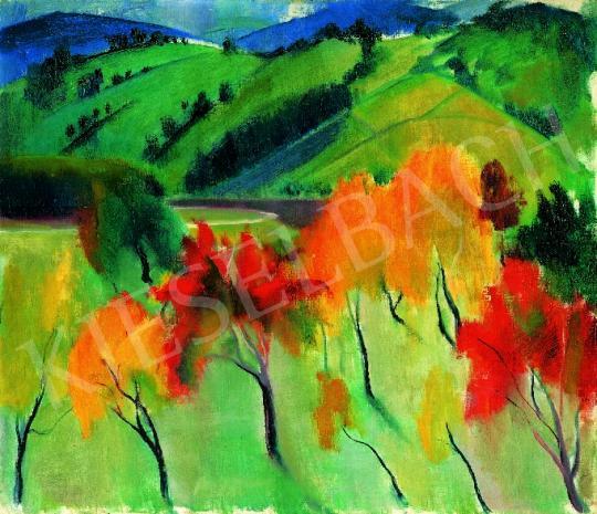 Eladó  Szőnyi István - Zebegényi ősz festménye