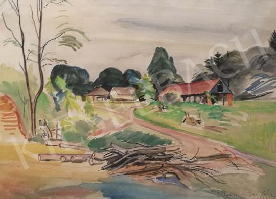Bornemisza Géza - Belezna festménye