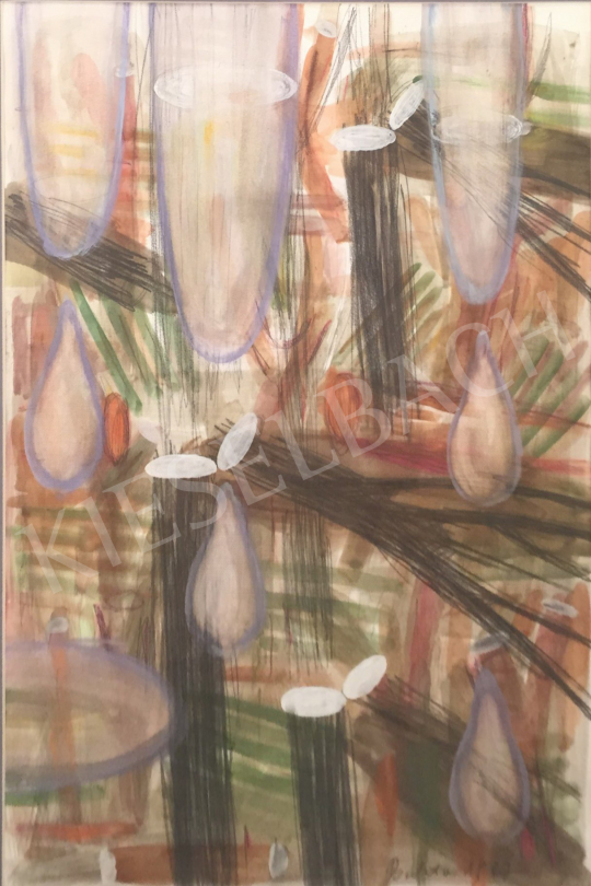 Bukta Imre - Síró erdő festménye