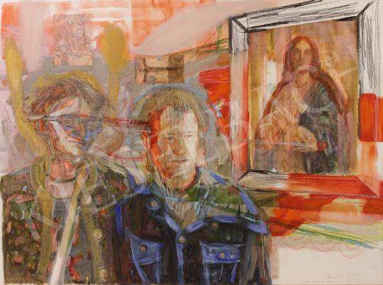 Bukta Imre - Képek a falon festménye