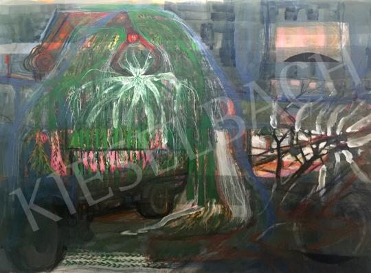 Bukta Imre - Viszik a szomorúfűzet festménye