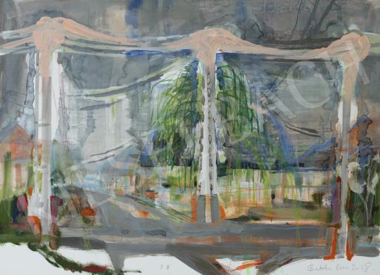 Bukta Imre - Útkereszteződés festménye