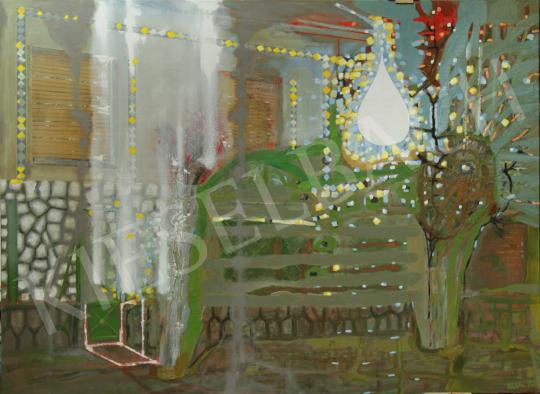 Eladó  Bukta Imre - Kora tavasz falun festménye