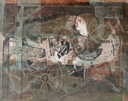 Bálint Endre - Kompozíció kerékkel