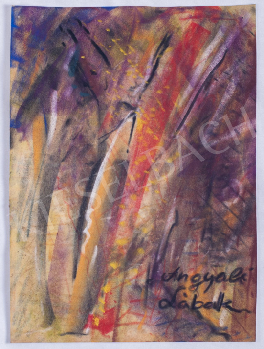 Eladó Ádám Zoltán - Angyali lábak festménye