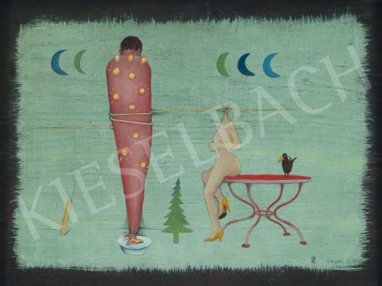 For sale  Ef Zámbó, István - Bright Night with Washbasin, 1982 's painting