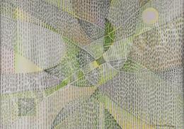 Gyarmathy, Tihamér - Spring Green Field's Quantum-Transliteration, 1989