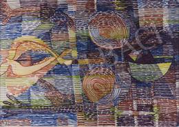 Gyarmathy Tihamér - Hommage a Klee (Szorongó indulatok), 1977