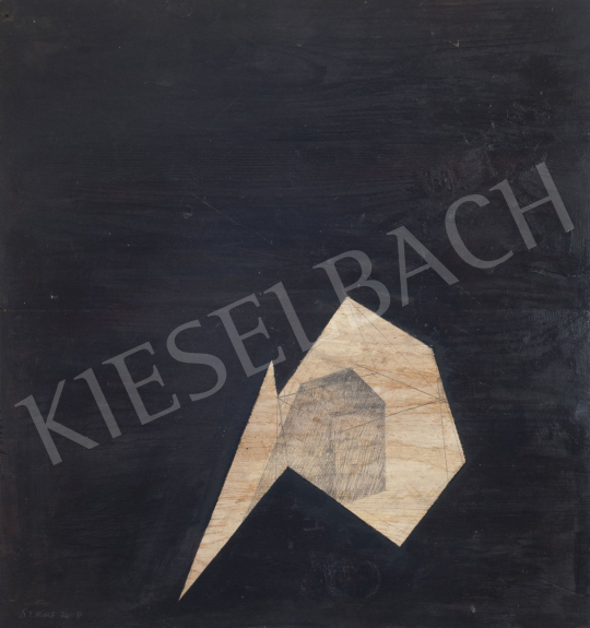 For sale Szikora, Tamás - Black Octahedron with a Box, 2008 's painting