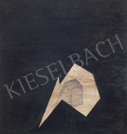 Szikora Tamás - Fekete oktaéder egy dobozzal, 2008