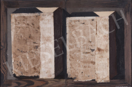 Szikora Tamás - Két doboz kódex lapokon, 2008
