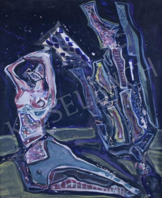 Eladó  Kazovszkij, El - Zárt előadás III.  festménye