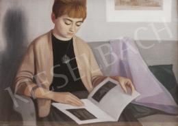 Mácsai István - Olvasó lány