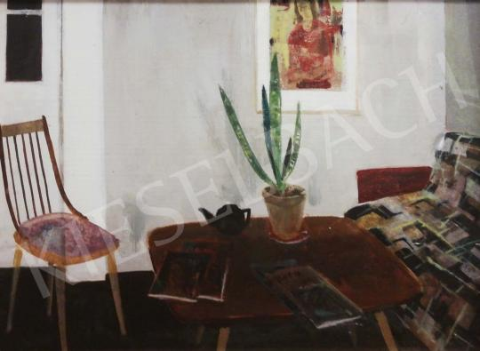 For sale id. Keleti, Jenő - Retro Living Room 's painting