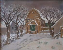 Kádár, Béla - Winter Landscape