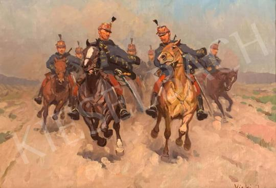 For sale  Viski, János - Hussars 's painting