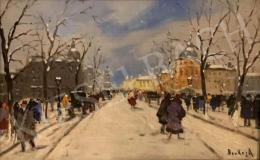 Berkes Antal - Téli utca