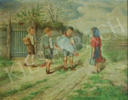 Barabás Gizella - Fiatal úttörők