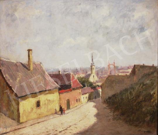 For sale Guzsik, Ödön - View of Tabán 's painting