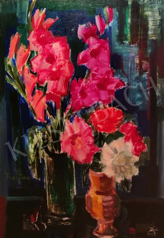 Eladó Freytag Zoltán - Virágok vázában festménye