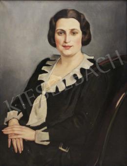 Zádor István - Elegáns női portré