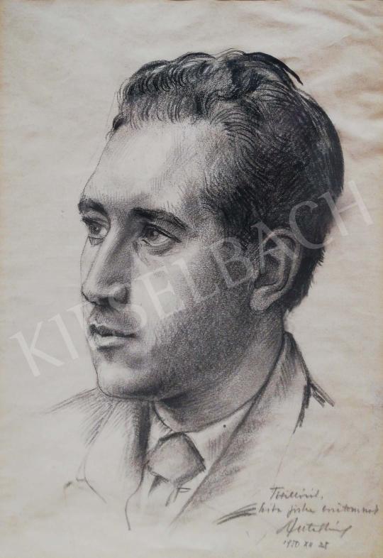 Ismeretlen magyar művész - Szita József portréja festménye