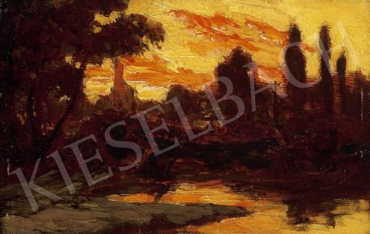 Székely, Bertalan - Twilight   14th Auction auction / 68 Lot