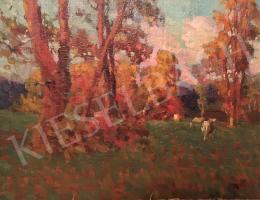 Haller György - Ősz tehenekkel