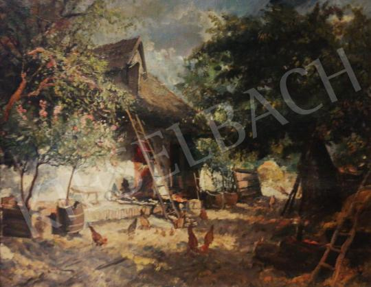 For sale Ujváry, Ferenc - Garden with Flowers 's painting