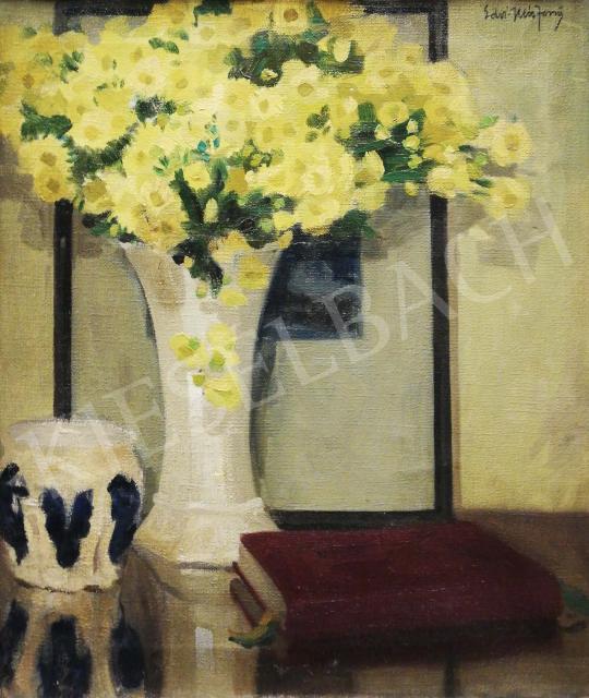For sale Aradi Edvi, Illés Jenő (Edvi Illés Jenő) - Flower Still-Life 's painting