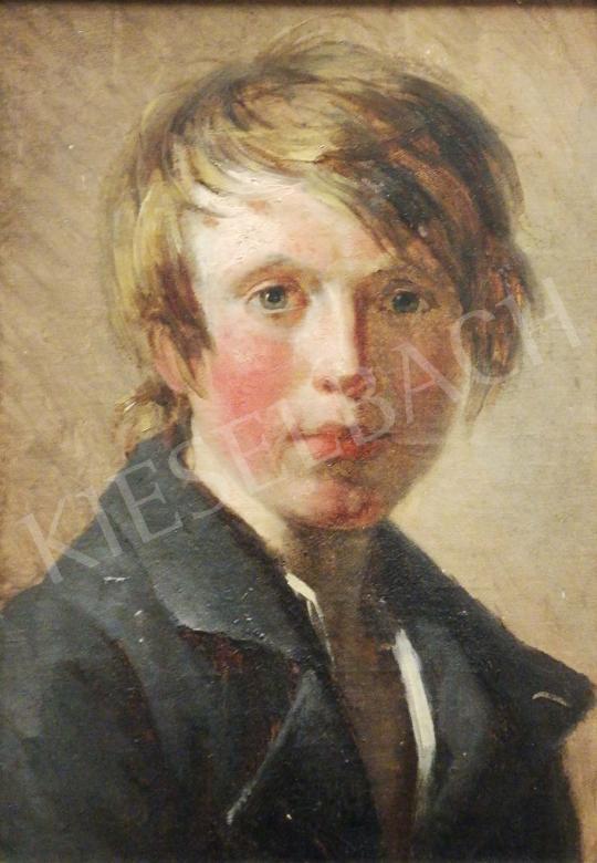 Eladó Ismeretlen festő - Serdülő fiú portréja, 1810 körül festménye