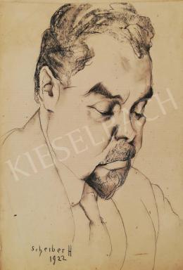 Scheiber Hugó - Férfi portré