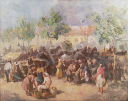 Jánoska Tivadar - Lóvásár