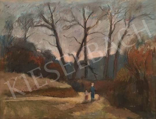 Eladó Kemény Zsigmond - Őszi séta festménye