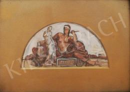 Lotz Károly - A szobrászat allegóriája
