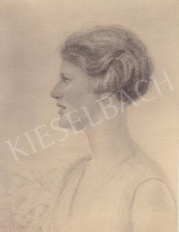 Hadzsy Olga - Kiselbach Vilmosné portréja (Sebesta Gladys)