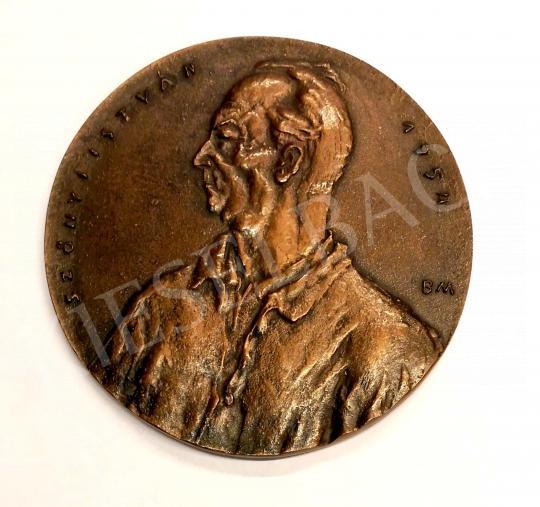 Eladó  Borsos Miklós - Szőnyi István emlékérem, 1954 festménye