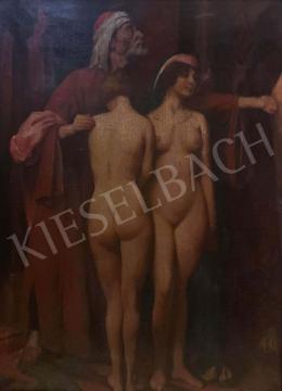 Ismeretlen festő - Rabszolga-kereskedő, 1930-as évek