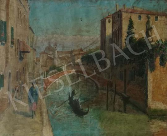 For sale  Csejtei Joachim, Ferenc - Venice 's painting