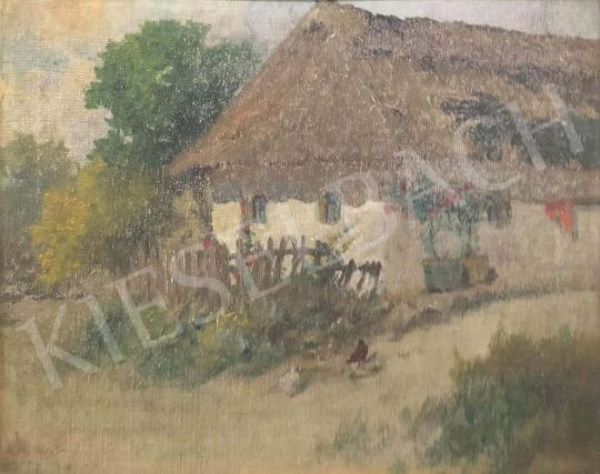 Neogrády, Antal - Village House painting