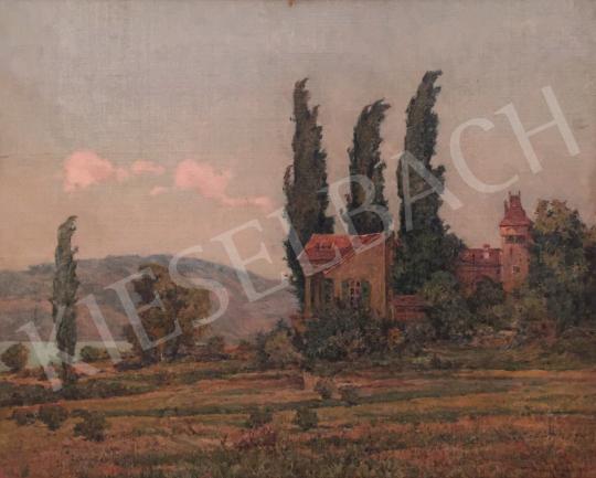 Eladó Basch Árpád - Balatonparti villa (Csopak) festménye