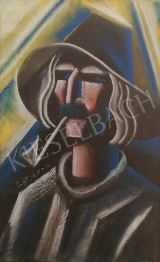 Eladó  Scheiber Hugó - Pipás ember festménye