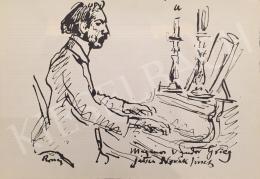 Rippl-Rónai József - Magányos vándor Grieg Játsz Novák József