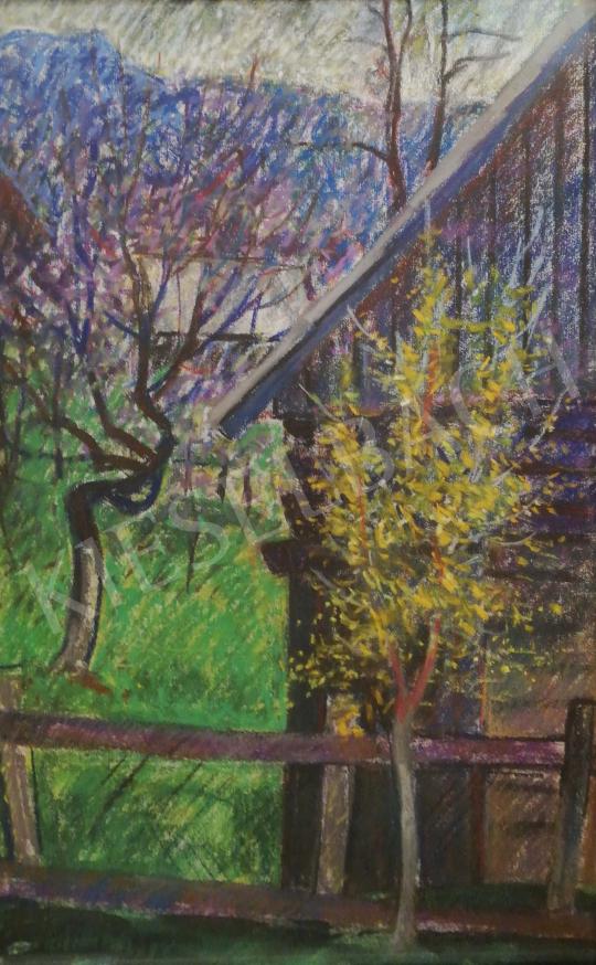 Eladó Páll Lajos - Tavaszi kert festménye